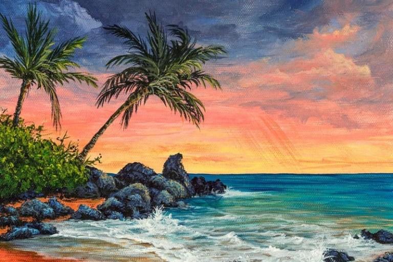 lukisanpemandanganditepipantaipadawaktus
