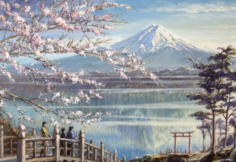 5O Lukisan dan gambar Pemandangan Alam yang sangat ...