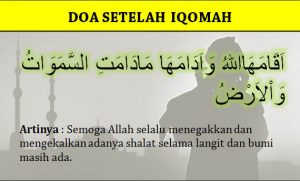 Doa Setelah Adzan dan Iqomah Beserta Latin dan Artinya ...