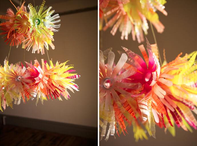 bunga hias dari botol plastik