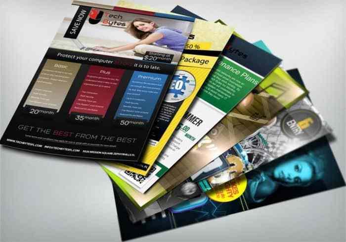 23 Contoh Brosur Dan Flyer Makanan Produk Promosi Iklan Sekolah