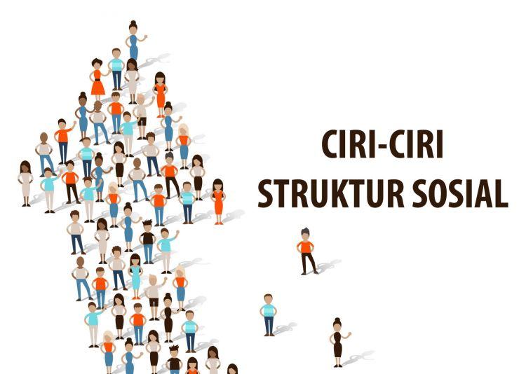 ciri ciri struktur sosial