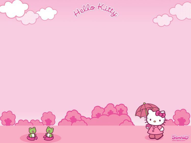 Wallpaper Hello Kitty untuk Laptop