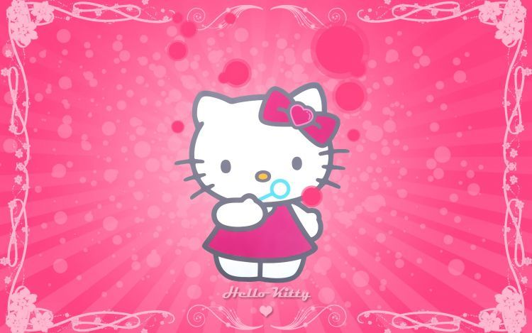 Gambar Hello Kitty Wallpaper
