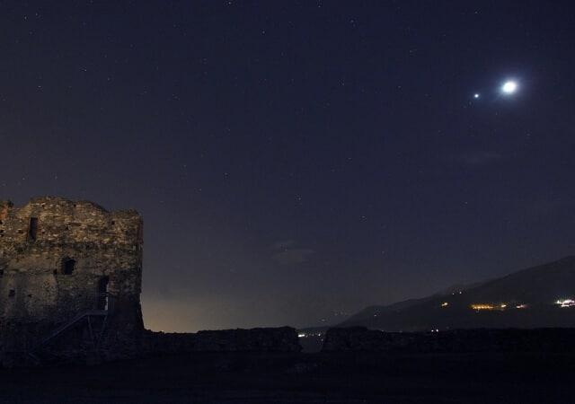 fenomena alam bulan bertemu jupiter