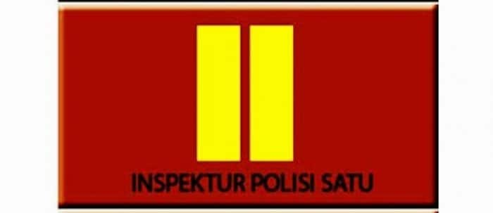inspektur polisi satu (iptu)