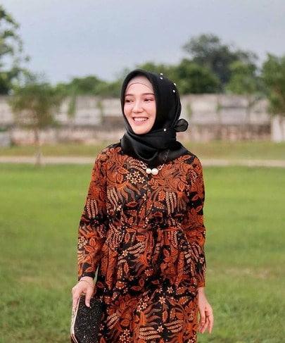 model baju maxy dress full batik