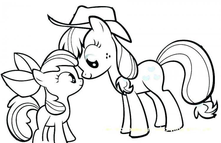 Tips Mewarnai Kuda Poni Beserta Contoh Gambarnya