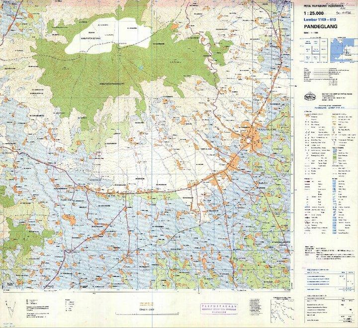 membaca peta topografi