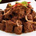 resep makanan rendang padang kering